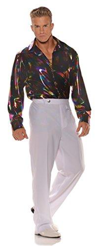 Underwraps Men's Retro Disco Costume - Shirt ()