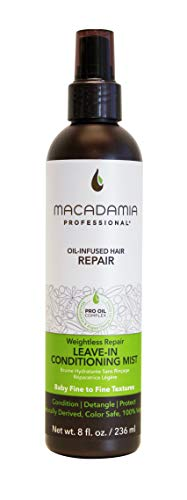 Macadamia Professional Weightless Moisture Conditioning Mist, 1er Pack (1 x 236 ml)