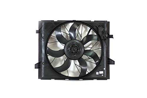 Engine Cooling Fan Assembly - Cooling Direct Fit/For 52014787AC 14-18 Dodge Durango 3.6/5.7L Heavy-Duty Jeep Grand Cherokee 3.0/3.6/5.7L HD/6.4L