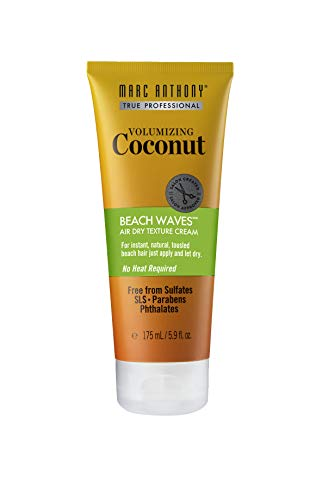 Marc Anthony Coconut Beach Waves Texture Cream 5.9 Ounce (175ml) (Best Hair Cream For Waves)