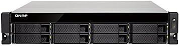 QNAP Business HE TS-873U-8G QNAP TS-873U, Unidad DE Disco Duro, SSD, M.2, Serial ATA III, 2.5/3.5'', 0, 1, 5, 6, 10, JBOD, FAT32,HFS+,NTFS,EXFAT,EXT3,EXT4, 2,1 GHz