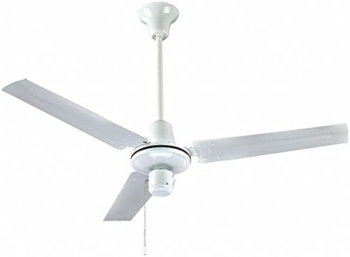 Dayton ventilador de techo de 3 hojas, 120 V, 8 a 20 pies. Altura ...