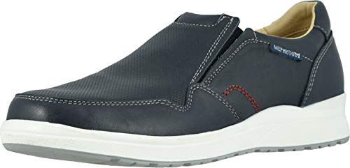 Mephisto Men's Valter Slip On Shoes Navy Randy Leather 9.5 M -