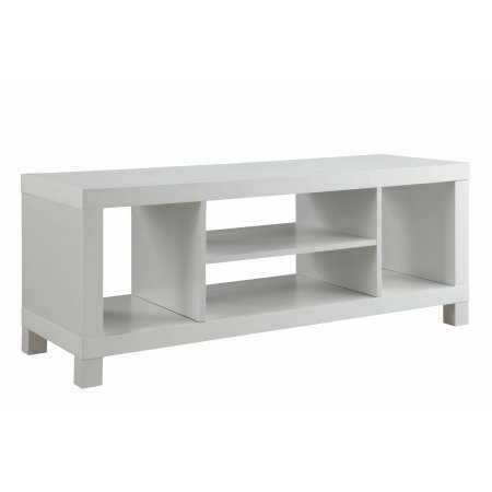 Cross Mill TV Stand White