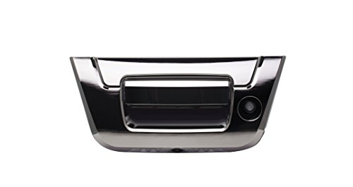 1500 Handle Tailgate Silverado Chevrolet (Alpine Electronics HCE-TG130GM Tailgate Handle Camera for Chevy Silverado & GMC Sierra Trucks (2007-2013) with Direct Connection to Alpine Touch Screens)
