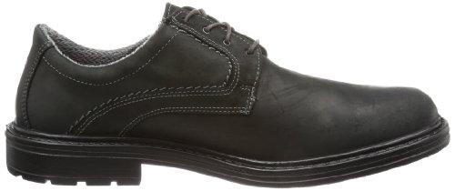 Jomos City Sport 5 - Zapatos con cordones de cuero hombre negro - negro