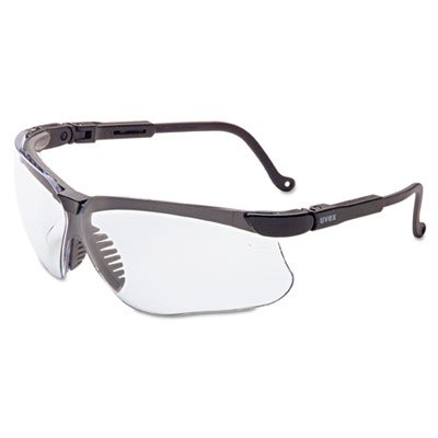 ar, Black Frame, Clear Lens, Sold as 1 Each (Clear Ud Lens)