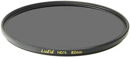 LURMVID 82mm ND16 MC Filter Schott B270 ガラス 真鍮フレーム 4ストップ ND 1.2 マルチコート 82 ルジッド