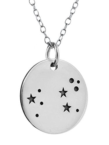 Sterling Silver Constellation Pendant Necklace product image