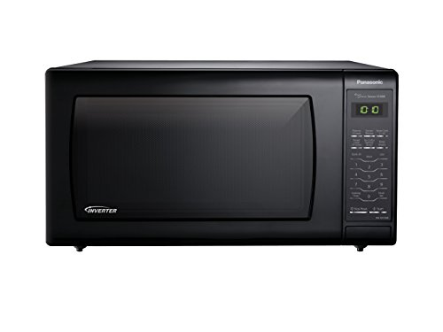 Panasonic NN-SN736B Black 1.6 Cu. Ft. Countertop Microwave Oven with Inverter - Microwave Camping