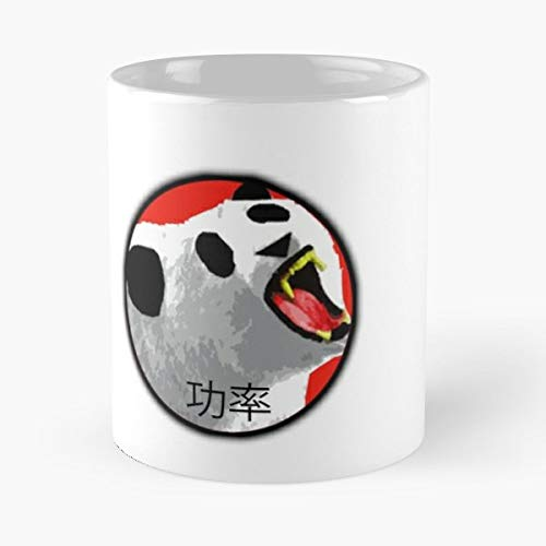 Retro Logo Oriental Panda Bear - Best Gift Ceramic Coffee Mugs