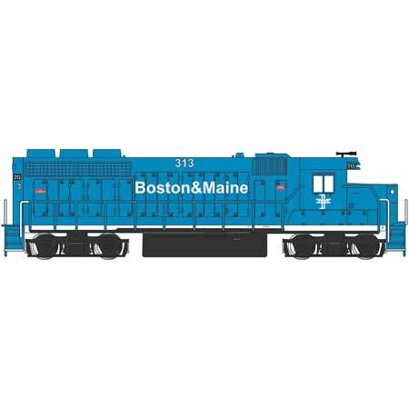 EMD GP40 Diesel Locomotive B&M #313 (Without Dynamic, used for sale  Delivered anywhere in USA