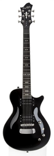Hagstrom ULSWE-BLK Ultra Swede Black for sale  Delivered anywhere in USA