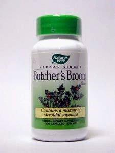 - NATURE'S WAY BUTCHER'S BROOM ROOT, 100 CAP by Nature's Way