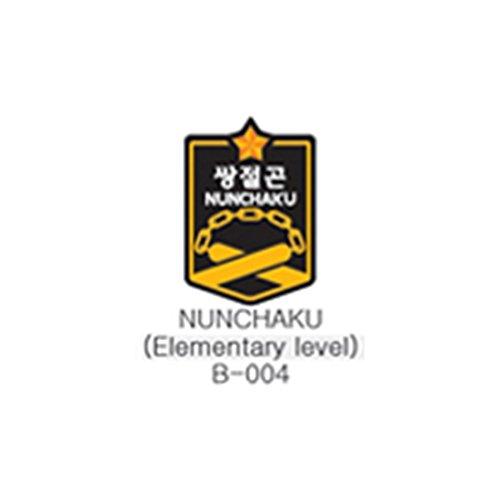 Mooto TAEKI Weapon Patch(10PCS) Taekwondo Uniform Dobok (Nunchaku B-004) - Patch Nunchaku