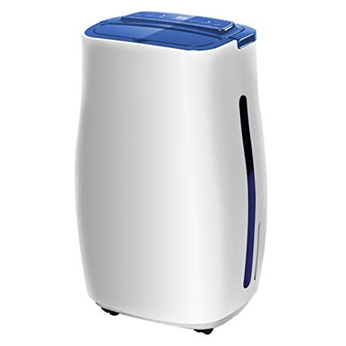 Dehumidifier - Small Silent dehumidifying Dryer Moisture Absorber, one-Button Automatic dehumidification, Negative ion Purification, Auxiliary Drying Clothes.