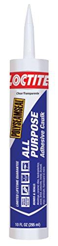 Loctite Polyseamseal Clear All Purpose Sealant, 10-Fluid Ounce Cartridge (2154740)
