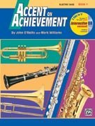 Accent on Achievement - Electric Bass - Book 1 - Bk+CD