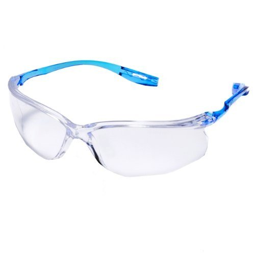 3M Virtua (CCS) 11797-00000-20 Clear Polycarbonate Standard Safety Glasses - 99.9 % UV Protection - Wrap Around Frame - 70071561974 [PRICE is per PAIR] (3m Virtua Safety Glasses)