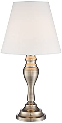 Thom Touch Table Lamp by Regency Hill in Brass Finish