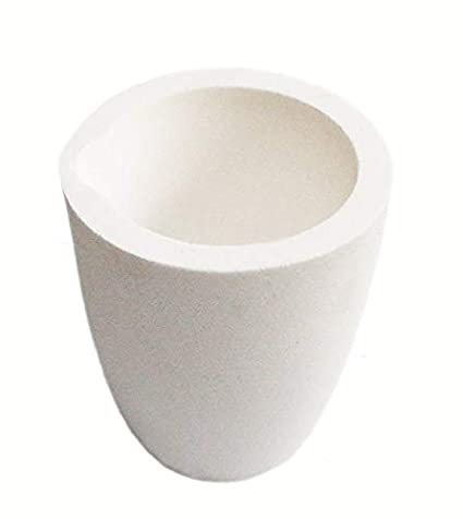 Quartz Melting Crucible Cup Furnace Melting Casting Refining Gold Silver Copper Casting Cup 2000g