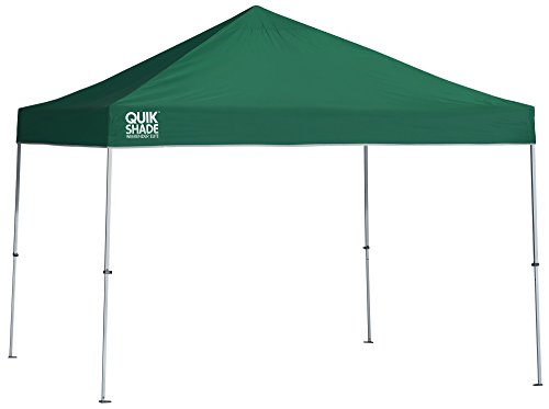 Weekender Canopy 12x12 - Quik Shade Weekender Elite 10 x 10 ft. Straight Leg Canopy, Green