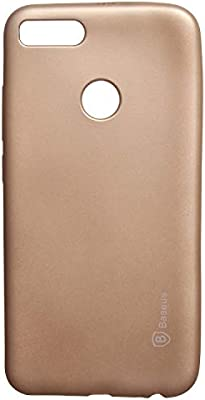 buy online b0af0 e16fb Baseus Back Cover For Xiaomi Mi A1, Gold: Amazon.ae