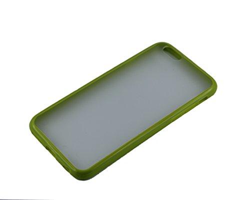 Monkey Cases® iPhone 6 - 4,7 Zoll - TPUCase for iPhone 6 - Transparent Matt - GRÜN - Handyhülle - ORIGINAL - NEU/OVP - GREEN