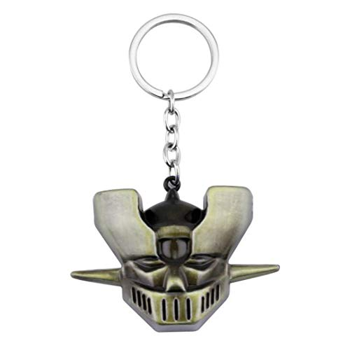 - Dan's Collectibles and More Mazinger Z Key Chain Keychain Super Giant Robot Japanese Anime Manga Cartoon 3D Bronze Head w/Gift Box (3DMazinger)