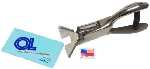 American Made 1/4 inch Radius Round Corner Punch - Heavy Duty, Model: CR4, Tools & Hardware store