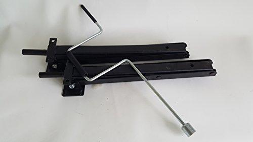Class A Customs 1 Set (2pcs) of RV Trailer Camper Post Jacks w/Crank Handle (Jack Atwood Stabilizer)