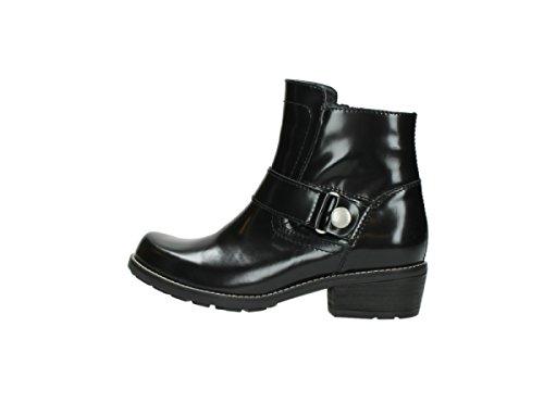 nbsp;Gila leather Bottines polished black Wolky 30000 0525 n8BFqwBa0