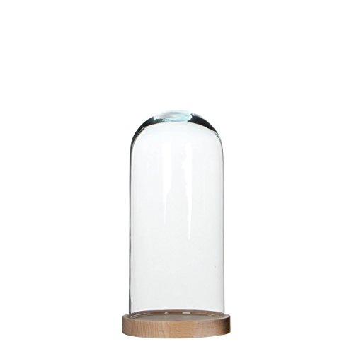 Mica decorations 1011789 Glocke, Hella, transparent