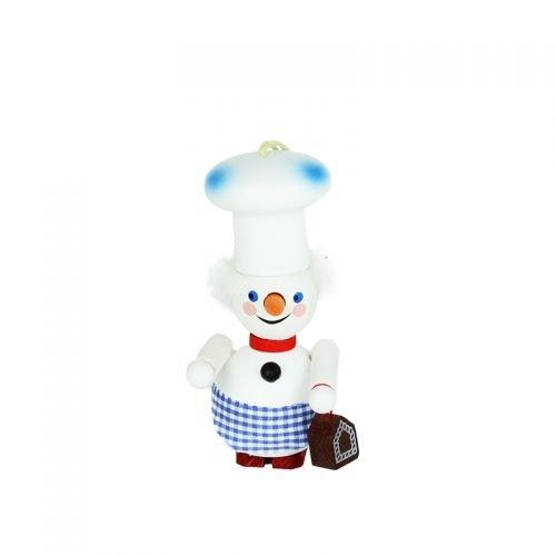 Steinbach Ornament Baker Snowman