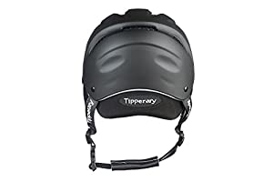 Tipperary Sportage Western Riding Helmet Low Profile Horse Safety Matte Black