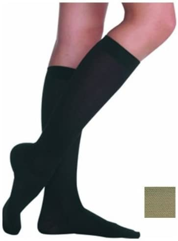 Juzo Hostess Compression Knee High Petite Closed Toe 30-40mmHg, IV, Noblesse 31xuoadKnnL