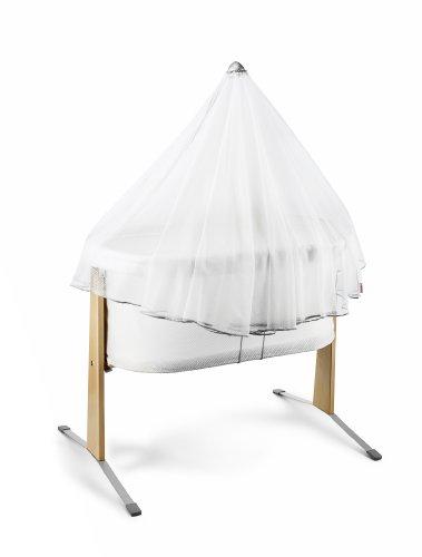 BABYBJÖRN Organisches Spannbetttuch für Weiss|Spannbetttuch für Wiege Babypuppen & Zubehör Möbel