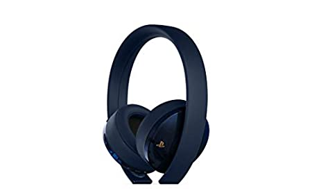 PlayStation Gold Wireless Headset 500 Million Limited Edition - PlayStation 4