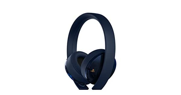 Amazon.com  PlayStation Gold Wireless Headset 500 Million Limited Edition - PlayStation  4  Discontinued   Video Games d8d4377806