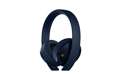 PlayStation Gold Wireless Headset 500 Million Limited Edition – PlayStation 4 [Discontinued] top rated Playstation