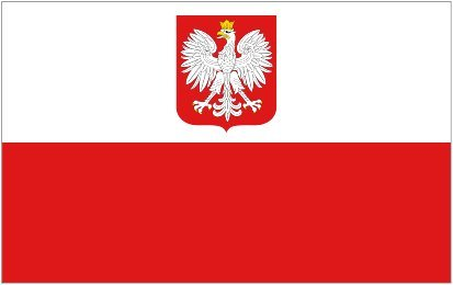Poland Flag from SoCal Flags 3x5 Foot Polyester Polish Coat