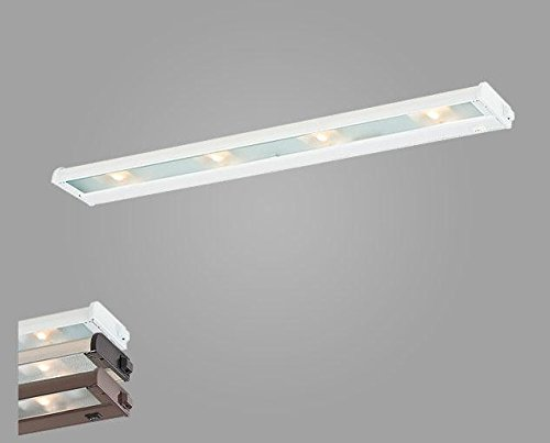 New Counter Attack Four Light Xenon Under Cabinet Light Finish: Stainless Steel