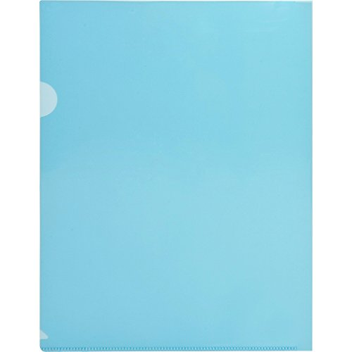 (Business Source Transparent Poly File Holders)
