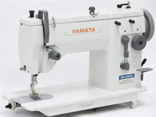 (Yamata 20U63 ZigZag Straight Stitch Embroidery Sewing Machine 12mm,Head only (motor,stand NOT included))