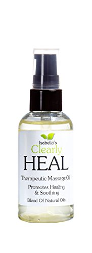 Isabellas-Clearly-HEAL-2-Oz-Promotes-sore-muscles-healing-relief-aches-pains-during-massage-Pure-therapeutic-natural-oils-with-Almond-Calendula-ProVitamin-B5-Myrrh-Lavender-Juniper-Berry