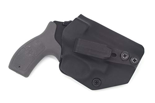 Sunsmith Holster - Compatible with Smith & Wesson M&P Bodyguard 38 Special Ambidextrous IWB Kydex Holster Inside Waistband Concealed Carry Holster Made in USA by Fast Dray USA (Black) (Smith And Wesson Special)