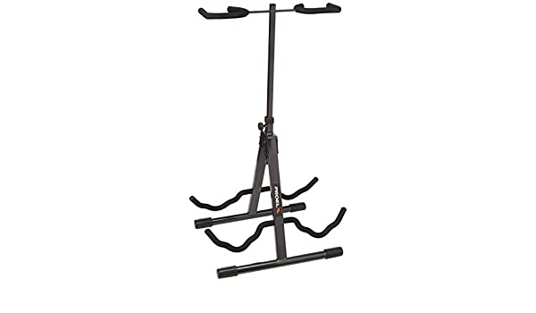 Amazon.com: Proel FC820 Acoustic/Electric Double Guitar Stand: Musical Instruments