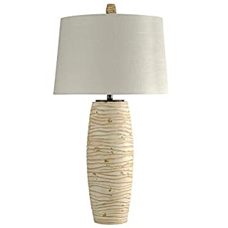 Delacora SC-DE-A031 Delacora SC-KL312494 Waxham by William Magnum 38'' Tall Accent Table Lamp with Hardback Fabric Shade