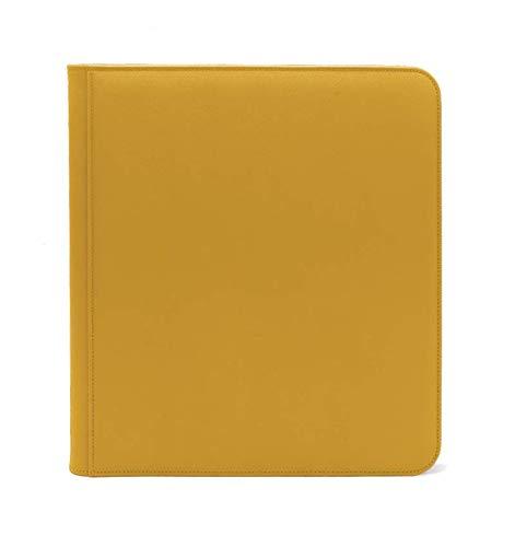 Yellow Dex Zip Binder 12