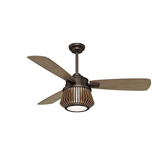 Casablanca 59162 Glen Arbor Indoor Ceiling Fan with Remote, Medium, Metallic Chocolate